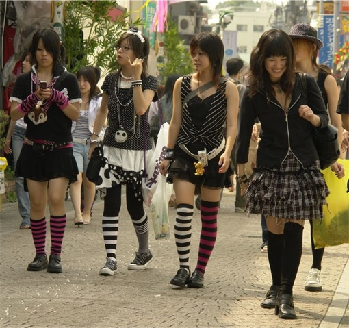 Lipstick Index - Japanese Teenagers Fashion