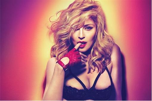 Madonna Urine on Foot
