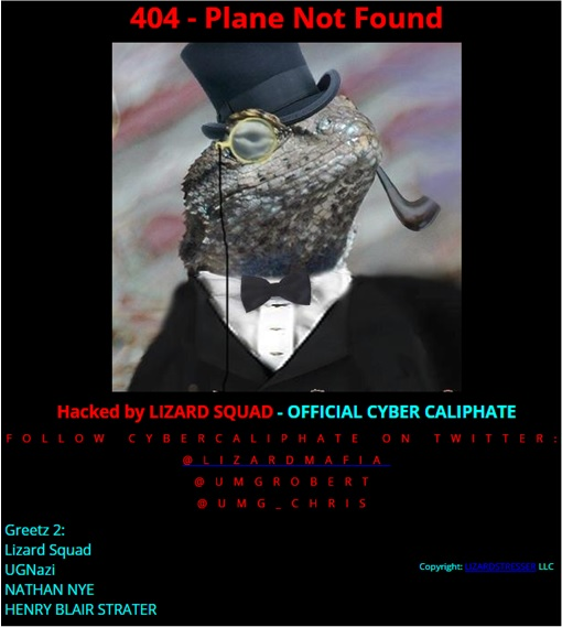 Malaysia Airlines Website Hacked - ISIS - Cyber Caliphate