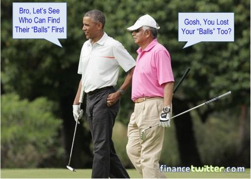 Malaysia in Flood - Najib Golfing with Obama