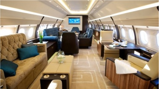 Malaysian Prime Minister Official Plane - 9M-NAA Interior - 1