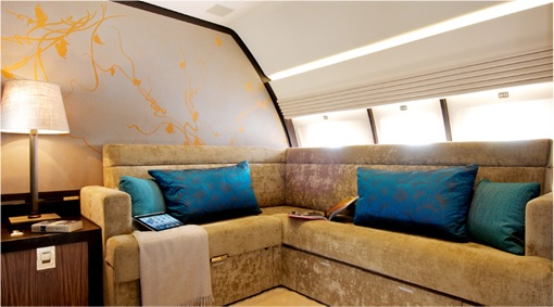 Malaysian Prime Minister Official Plane - 9M-NAA Interior - 2