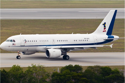 Malaysian Prime Minister Official Plane - 9M-NAA