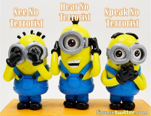 Minions - See No Terrorist, Hear No Terrorist, Speak No Terrorist