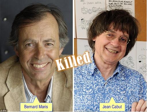 Paris Terror Attack -Cartoonists Killed - Bernard Maris and Jean Cabut