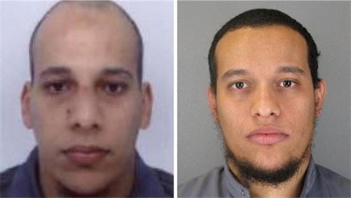 Paris Terror Attack - Cherif Kouachi and Said Kouachi Photo