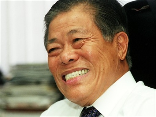 Singapore Billionaire Goh Cheng Liang Laughing