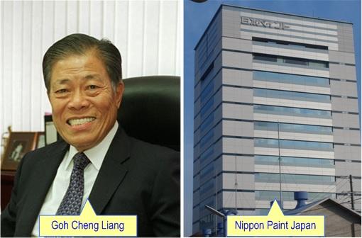 Singapore Billionaire Goh Cheng Liang and Nippon Paint Japan HQ