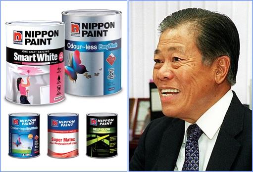 Singapore Billionaire Goh Cheng Liang and Nippon Paint Japan Partnership