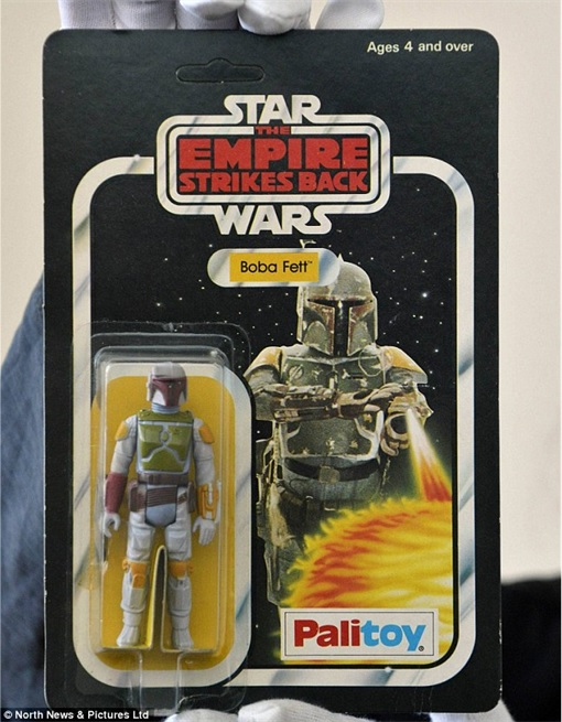 Star Wars Toys Auction - Boba Fett in Pristine condition