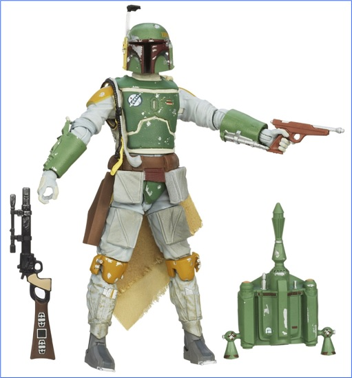 Star Wars Toys Auction - Boba Fett in action