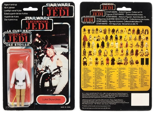 Star Wars Toys Vectis Auction - Luke Skywalker