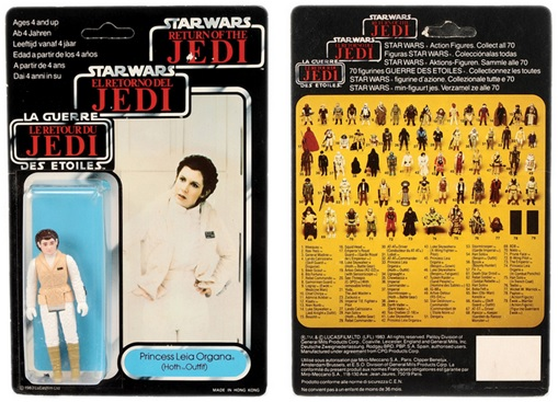 Star Wars Toys Vectis Auction - Princess Leia