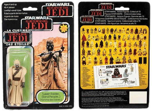 Star Wars Toys Vectis Auction - Sandpeople