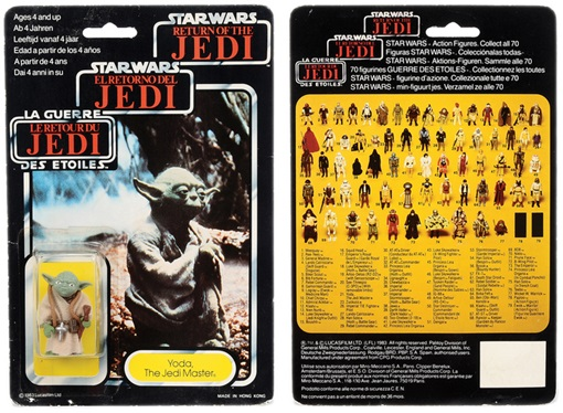 Star Wars Toys Vectis Auction - Yoda