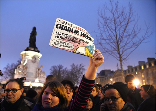 Support Rallies for Charlie Hebdo