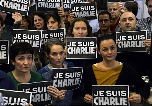 Support Rallies for Je Suis Charlie