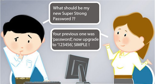 What Strong Password to use - Comic