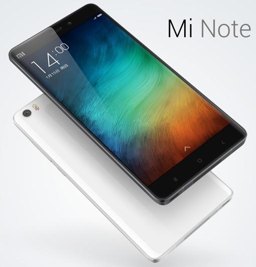 Xiaomi Mi Note - Black and White