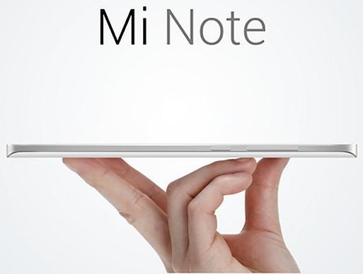 Xiaomi Mi Note - Holding
