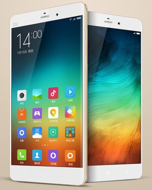 Xiaomi Mi Note - Whites Standing