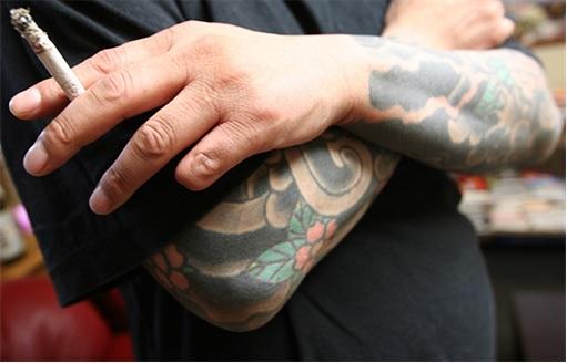 Yakuza Yamaguchi-gumi member - nine-fingered
