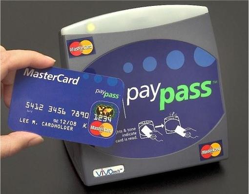 MasterCard PayPass - Skimming