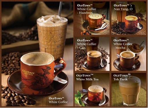Oldtown White Coffee - Types of Coffee