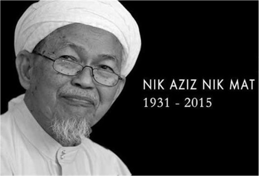 PAS Nik Aziz Passed Away - 1931-2015