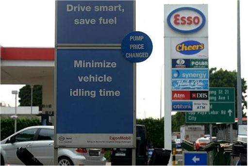 Singapore Petrol Station - Esso