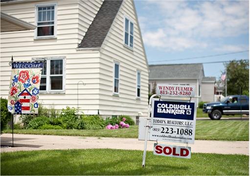 US Subprime Crisis - House for Sale