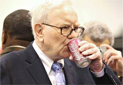 Warren Buffett Youthful Secret - Coke Coca-Cola
