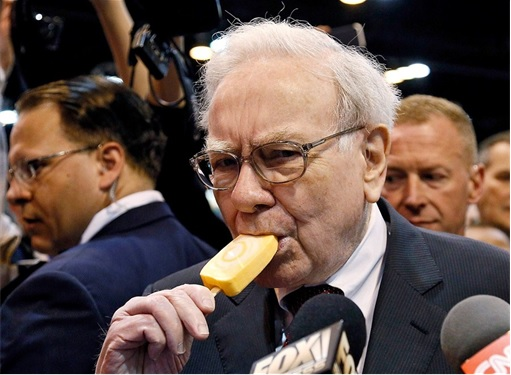 Warren Buffett Youthful Secret - Eat Ice-Cream