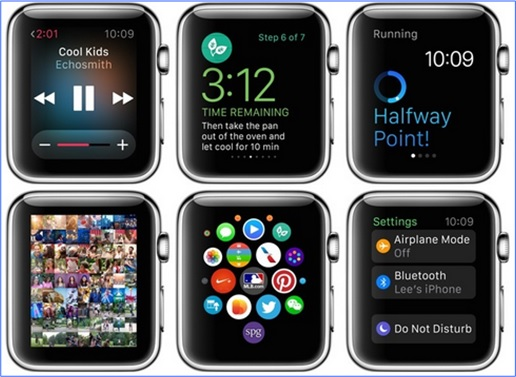 Apple Watch - interfaces 3