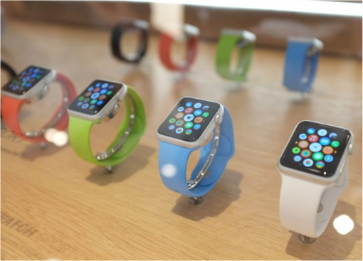 Apple Watch - on display table