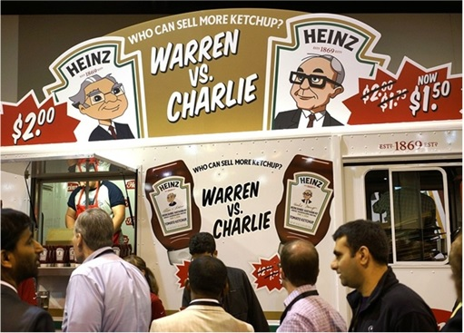 Berkshire Annual Meeting - Heinz Challenge - Who Can Sell More Ketchup - Warren vs Charlie