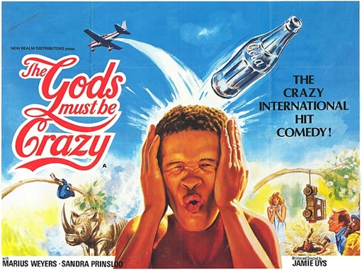 Coca-Cola Bottle - Movie The Gods Must Be Crazy