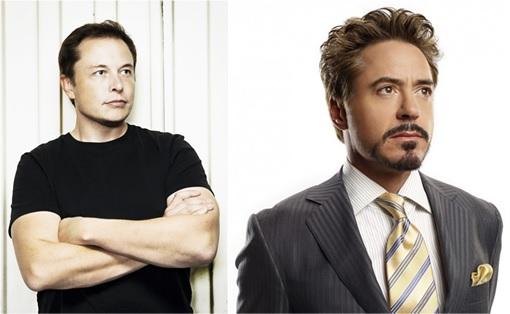 Elon Musk and Tony Stark