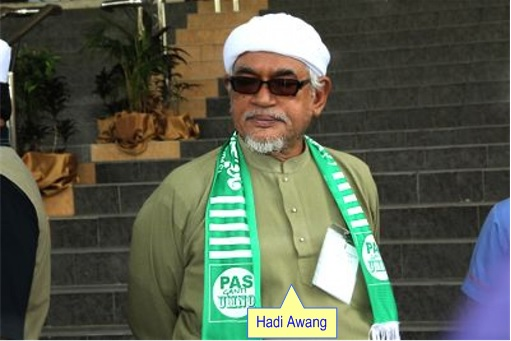 Hadi Awang Wearing Sunglass