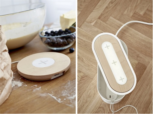 IKEA Wireless Charging Furniture - Charger at Kitchen and Room