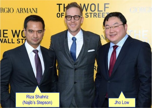 Jho Low With Najib Razak Stepson Riza