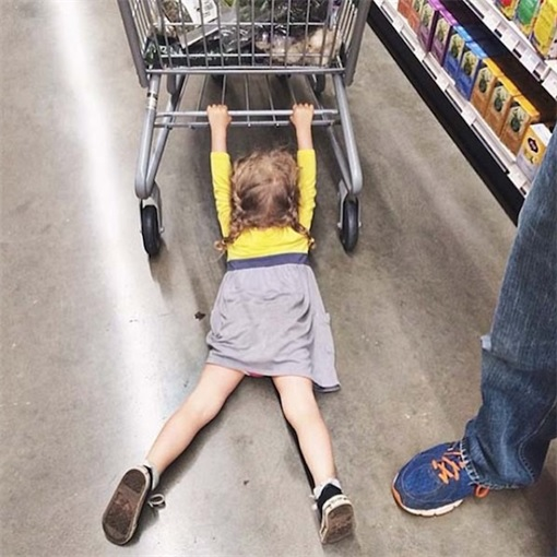 Kids Are The Worst - Dragging on Trolley