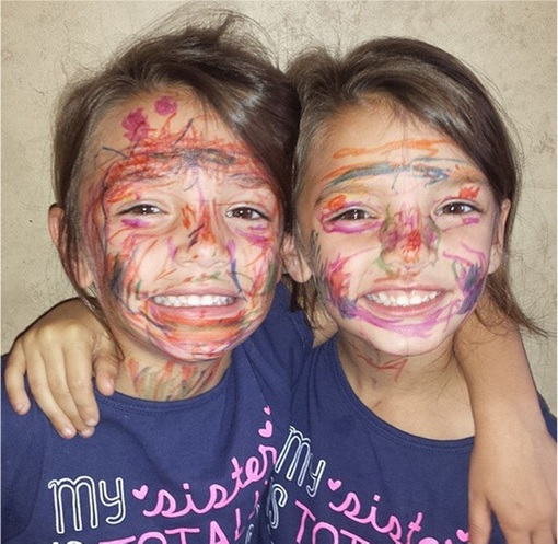 Kids Are The Worst - Drawing on Faces