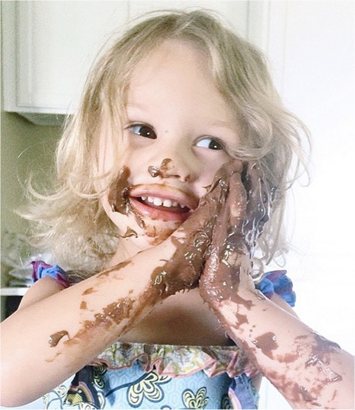 Kids Are The Worst - Hands Dirty with Chocolate