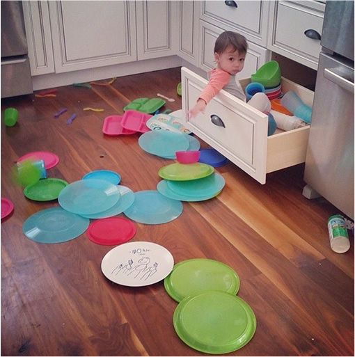 Kids Are The Worst - Sitting inside Drawer