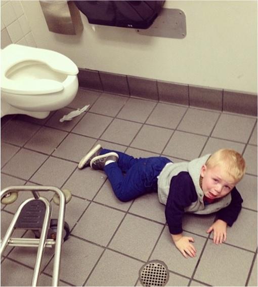 Kids Are The Worst - Tantrum in Public Toilet