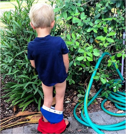 Kids Are The Worst - Urinating at Plants