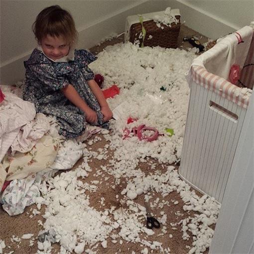 Kids Are The Worst - Use Scissor Cut Open Pillow