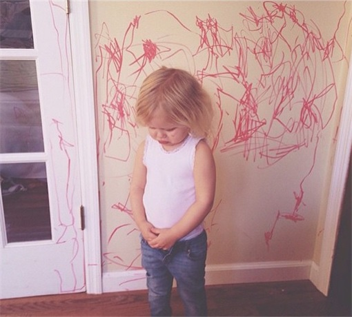 Kids Are The Worst - Wall Drawing