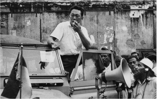 Lee Kuan Yew - Campaigning